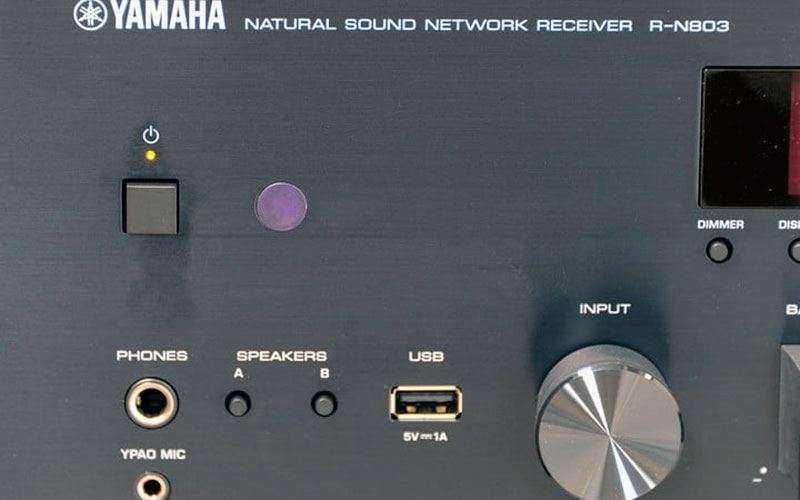 Звук Yamaha R-N803