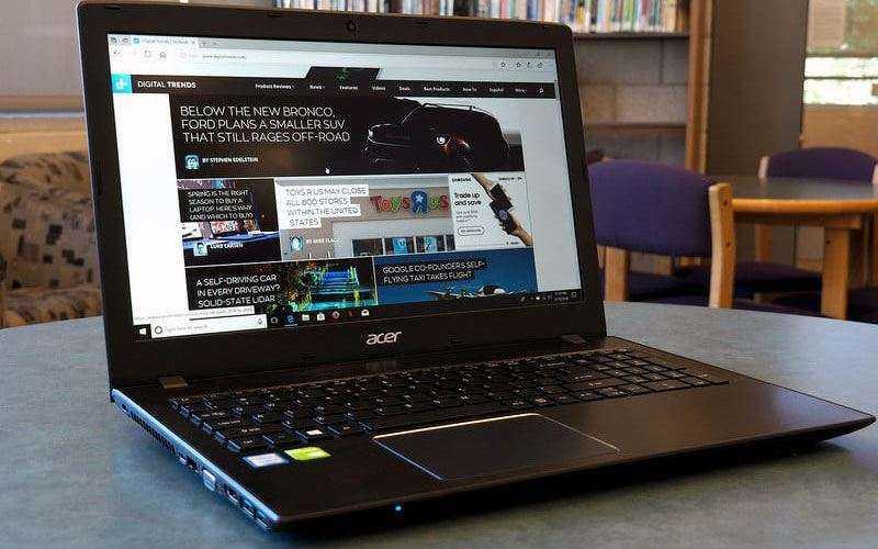 Acer Aspire E 15 отзывы