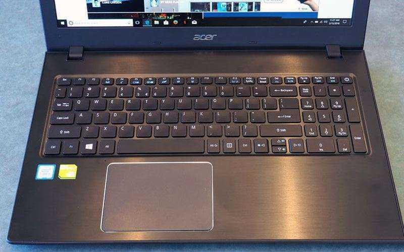 Клавиатура Acer Aspire E 15 и тачпад