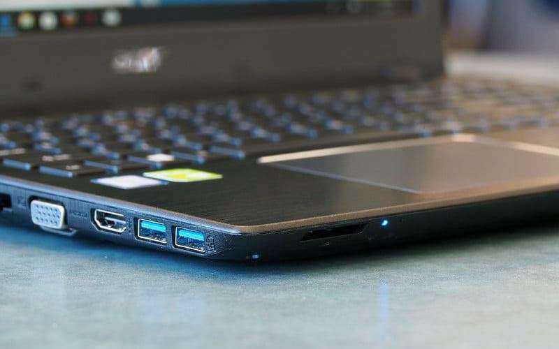 Acer Aspire E 15 в играх