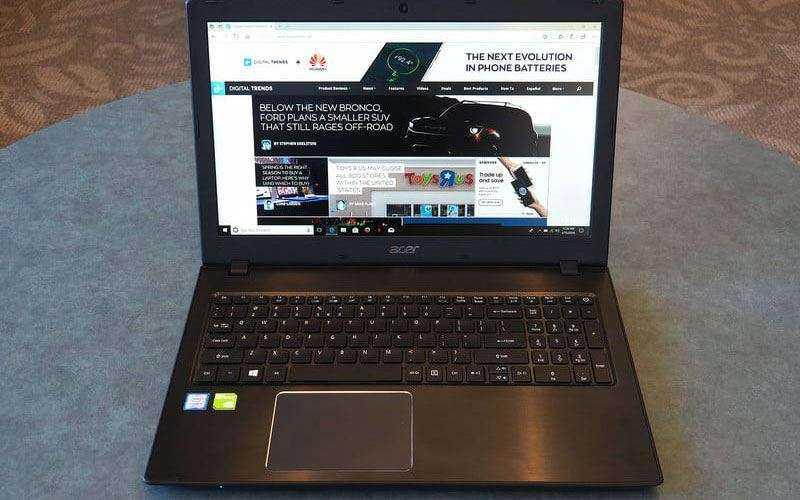 Экран Acer Aspire E 15