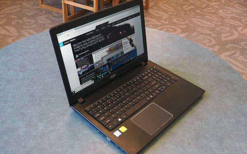 Acer Aspire E 15 обзор
