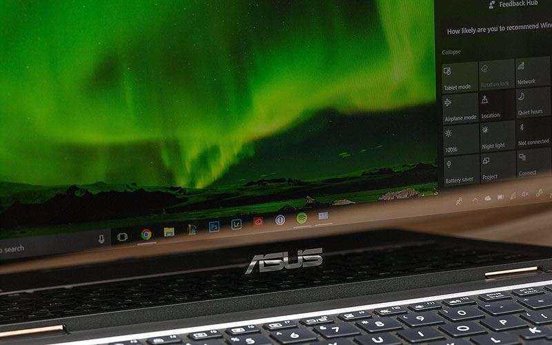 Экран Asus ZenBook Flip 14