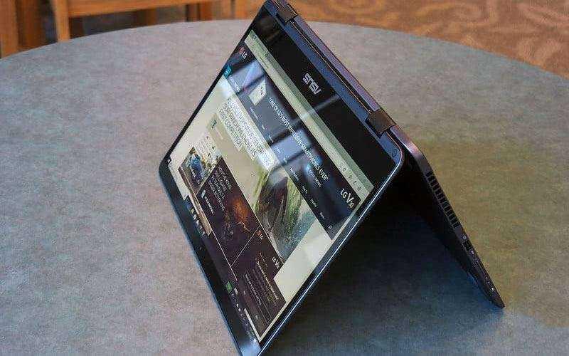 Тест Asus ZenBook Flip 14