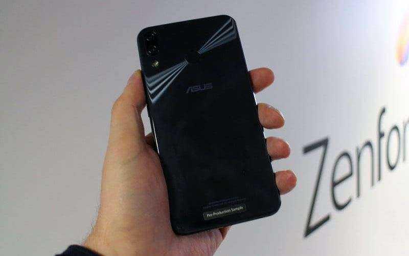 Дизайн Asus Zenfone 5