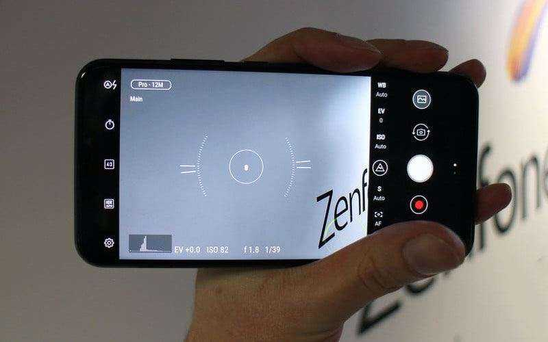 Камера Asus Zenfone 5