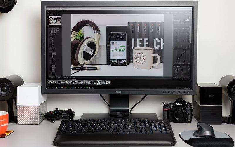 Обзор BenQ SW320 — Профессиональный 4K монитор, чтобы делать всё