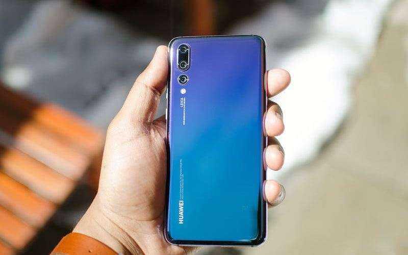 Huawei P20 Pro сзади