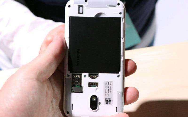 Батарея в Nokia 1