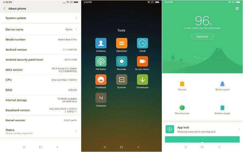 ПОв Xiaomi Redmi Note 5 Pro