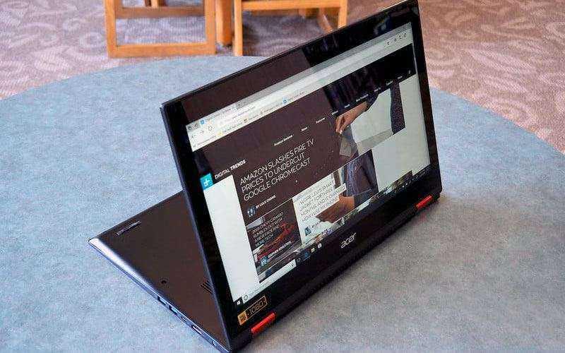 Обзор Acer Nitro 5 Spin — Лэптоп, который пытается стать игровым ноутбуком и 2-в-1