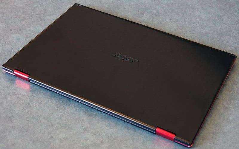 Дизайн Acer Nitro 5 Spin
