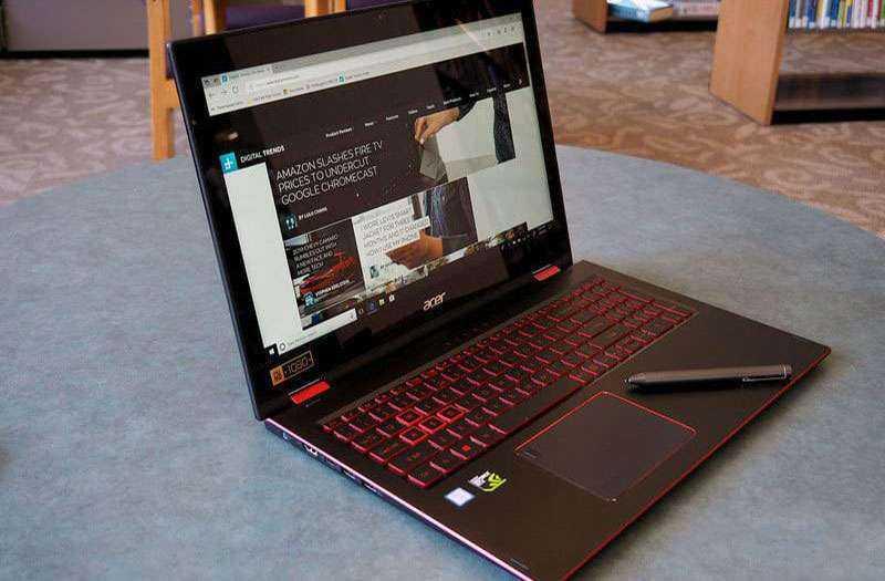 Обзор Acer Nitro 5 Spin — Ноутбук 2-в-1 пытается стать игровым