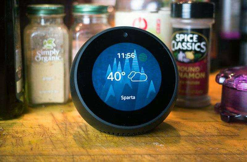 Экран Amazon Echo Spot