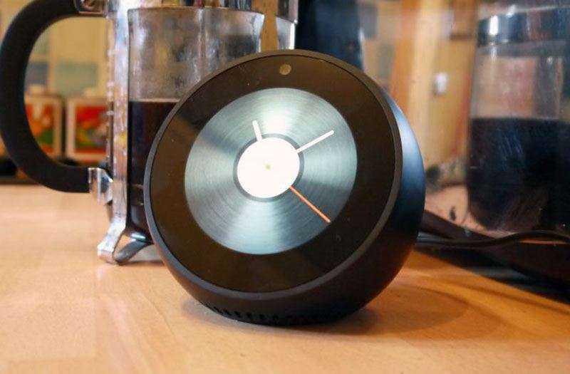 Amazon Echo Spot дизайн