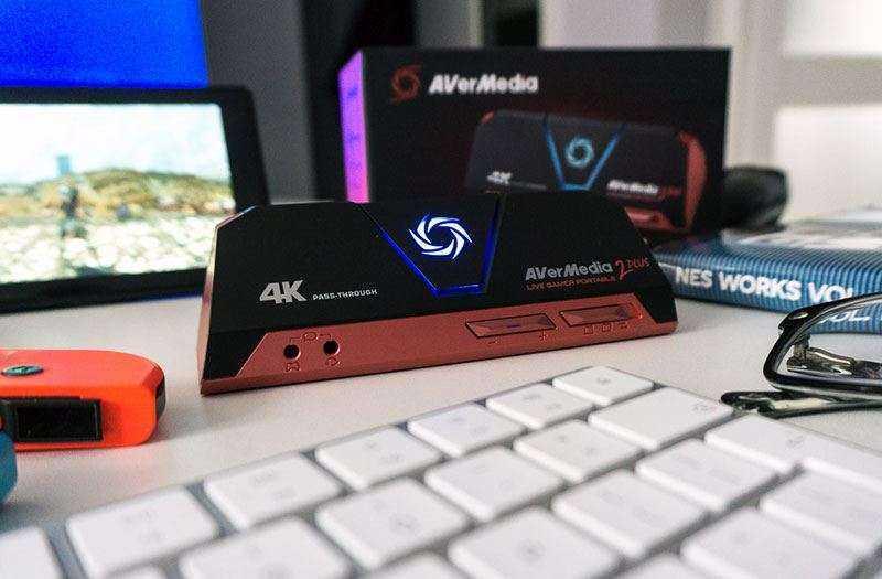 Характеристики AverMedia Live Gamer Portable 2 Plus