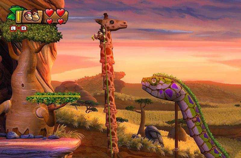 Обзор игры Donkey Kong Country: Tropical Freeze подкупающей графикой