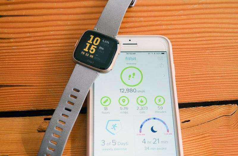Цена Fitbit Versa и гарантия