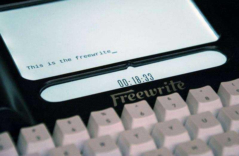 Freewrite в работе