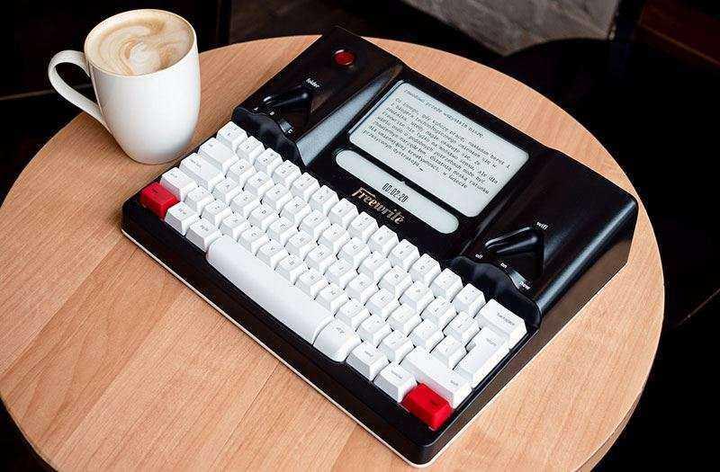 Печатная машинка Freewrite — Обзор очень странного гаджета