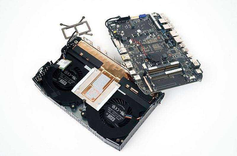 Intel Hades Canyon NUC8i7HVK процессор