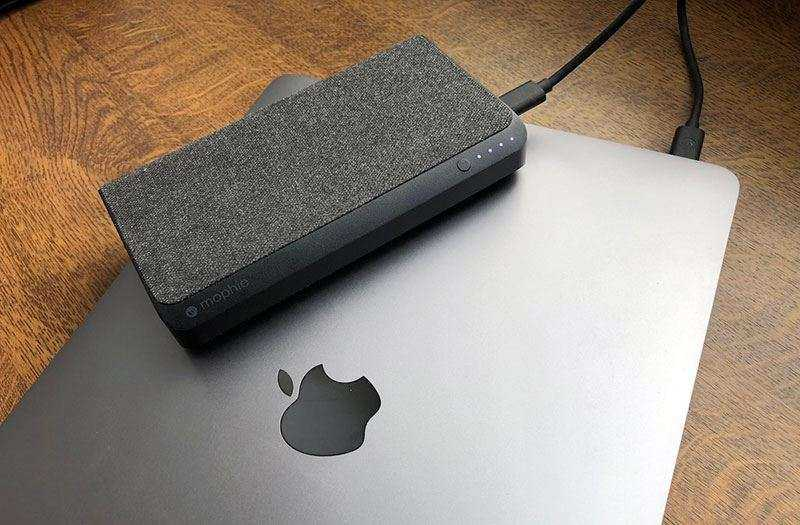 Обзор Mophie Powerstation USB-C XXL — Повербанк для ноутбука
