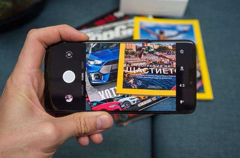 OnePlus 6 камера