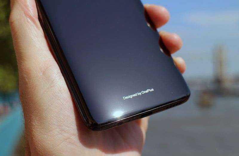 OnePlus 6 дизайн