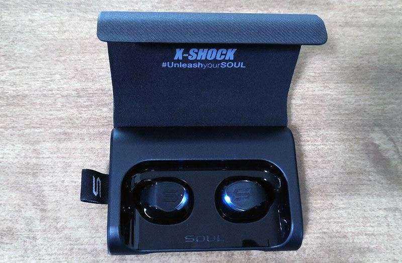 SOUL X-SHOCK — Обзор истинных беспроводных наушников с чехлом повербанком