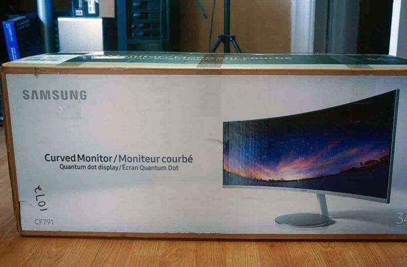 Samsung CF791 гарантия