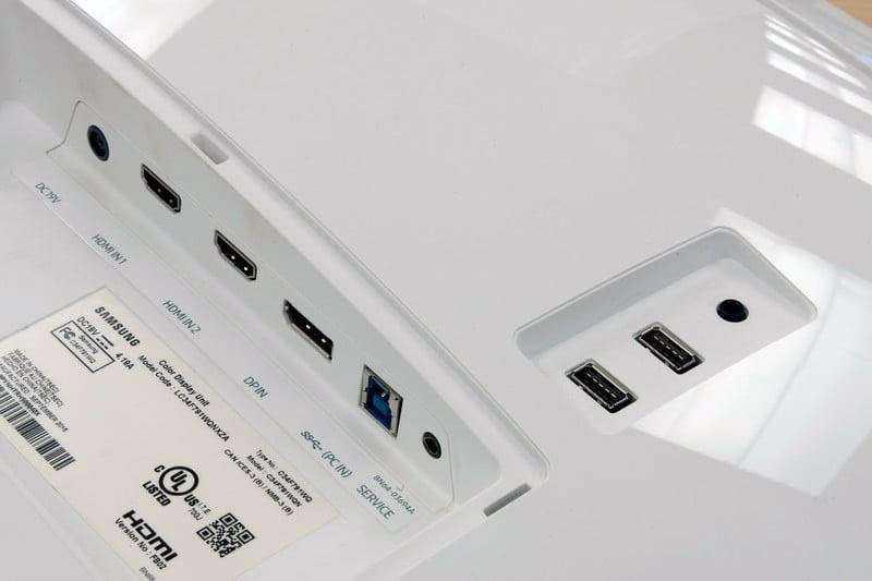 Порты Samsung CF791