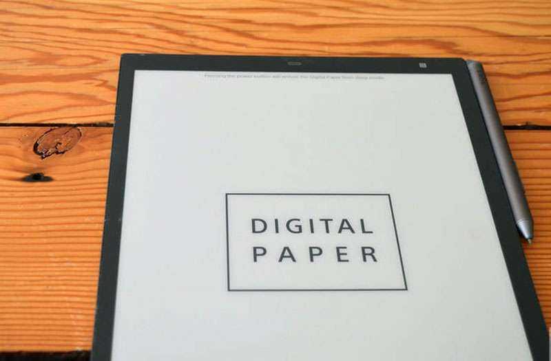 Sony Digital Paper отзывы