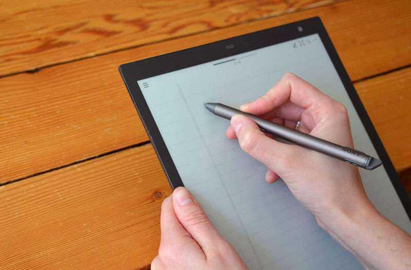 Sony Digital Paper на практике