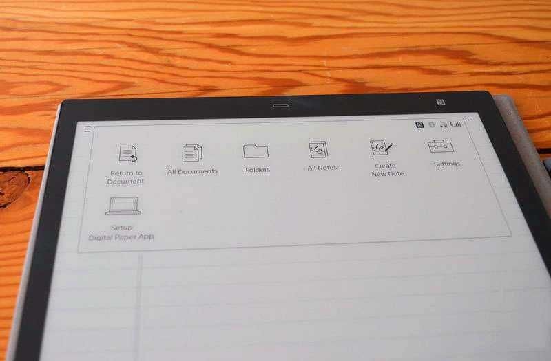 ПО Sony Digital Paper