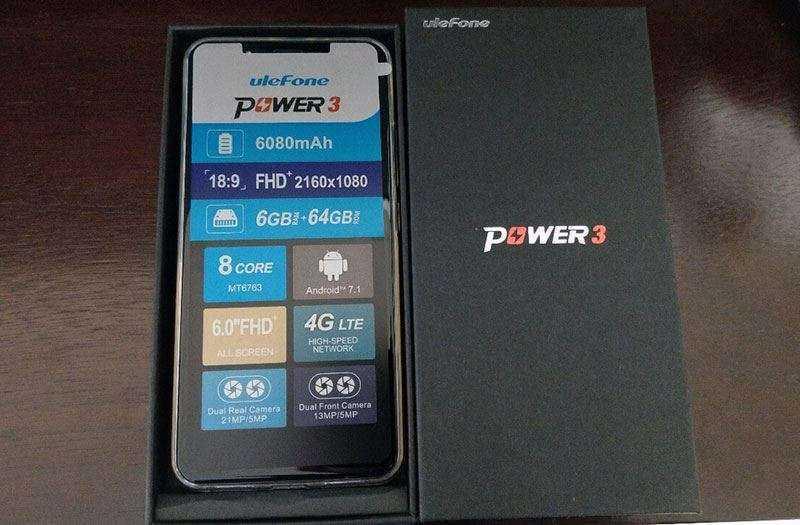 Ulefone Power 3 отзывы