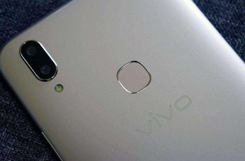 Сканер Vivo V9