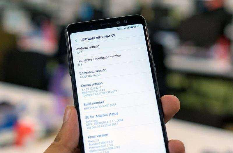 Производительность Samsung Galaxy A8 Plus