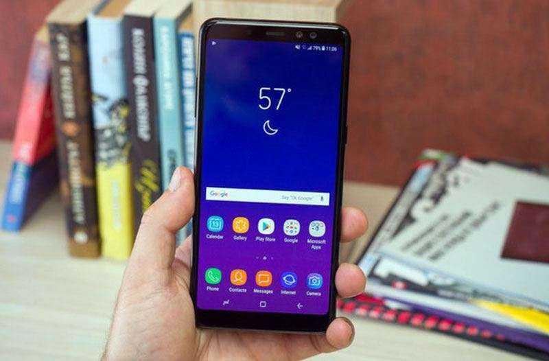 Дизайн Samsung Galaxy A8 Plus