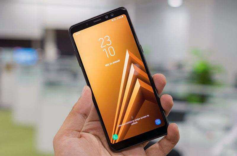 Samsung Galaxy A8 Plus экран
