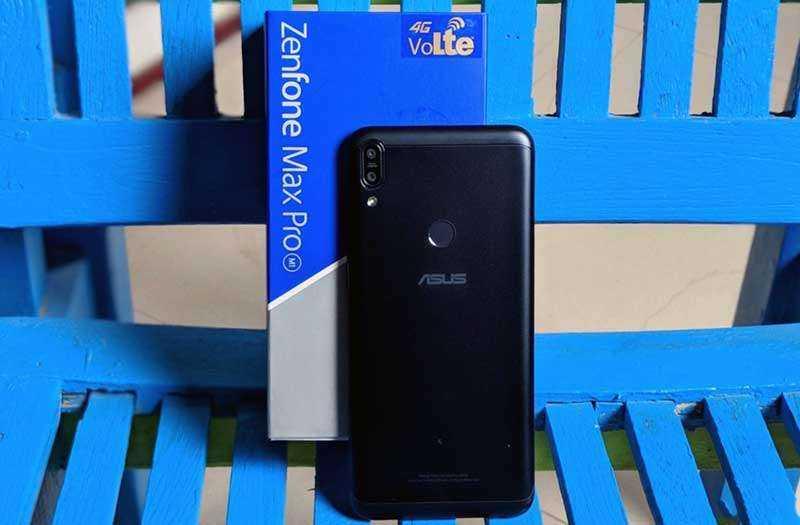 Дизайн Asus Zenfone Max Pro M1
