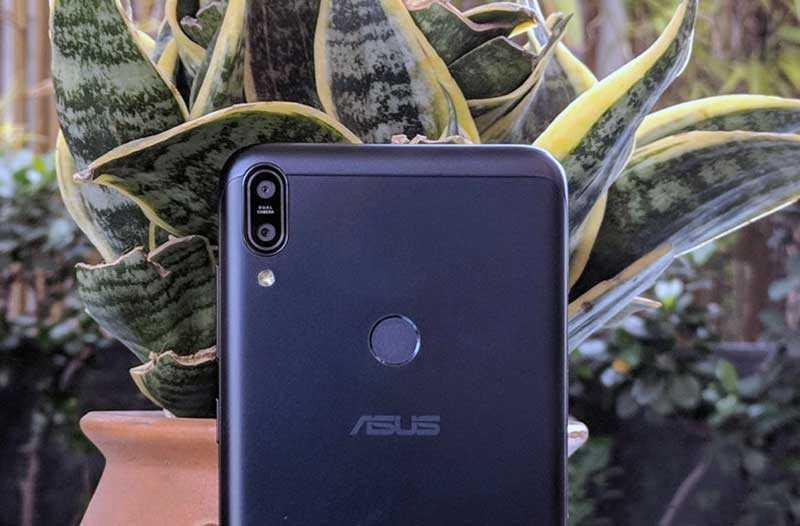 Камеры Asus Zenfone Max Pro M1
