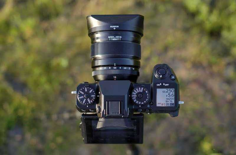 Fujifilm X-H1 сверху