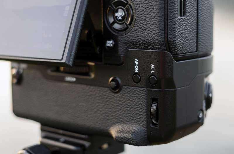 Fujifilm X-H1 порты