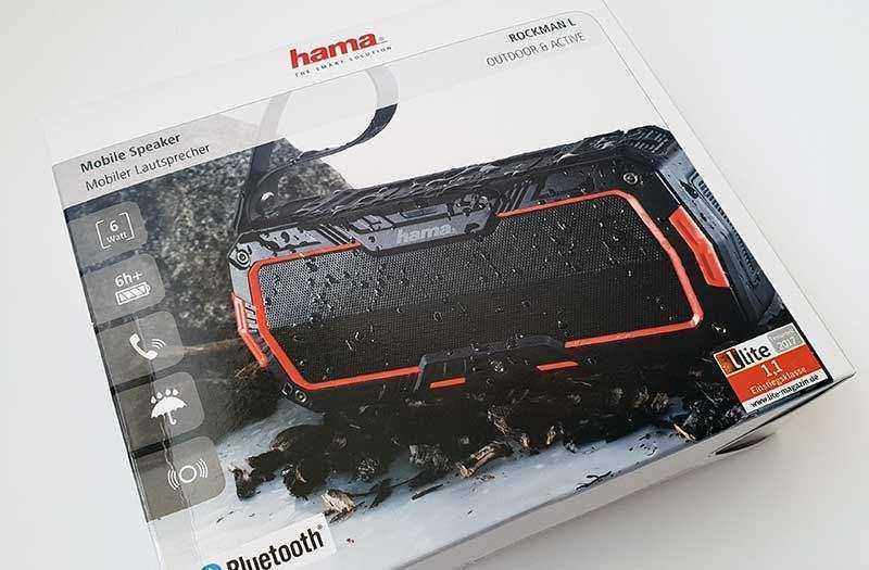 Hama Rockman-L из коробки