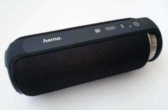 Обзор Hama Soundcup-L: громкая портативная колонка