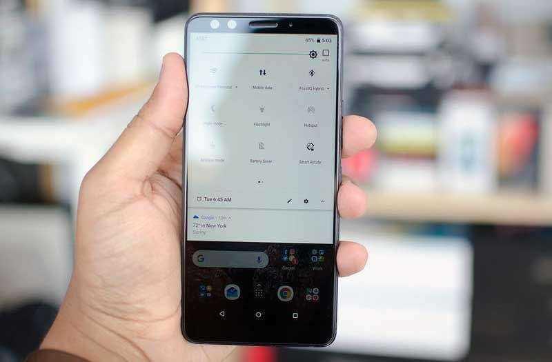 Настройка HTC U12 Plus