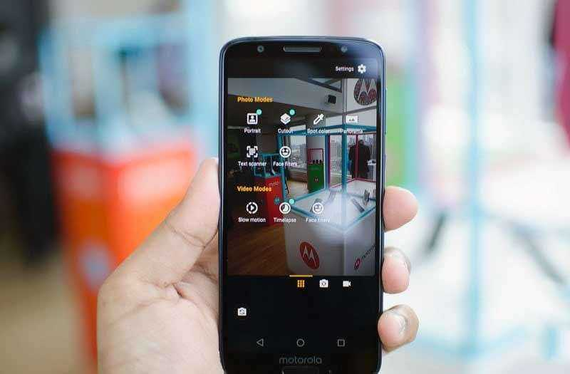 Смартфон Moto G6
