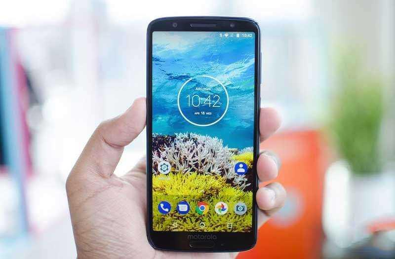 Экран Motorola Moto G6