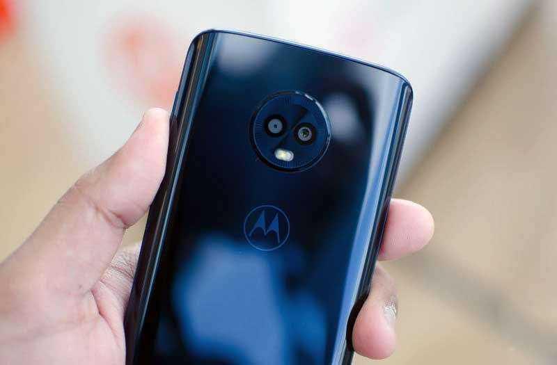 Камеры Moto G6