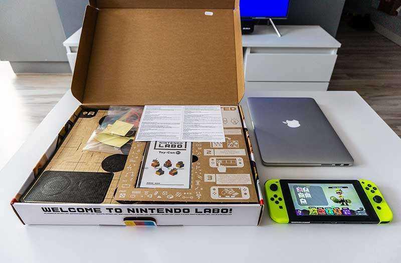 Обзор Nintendo LABO: игровой рай для юных инженеров